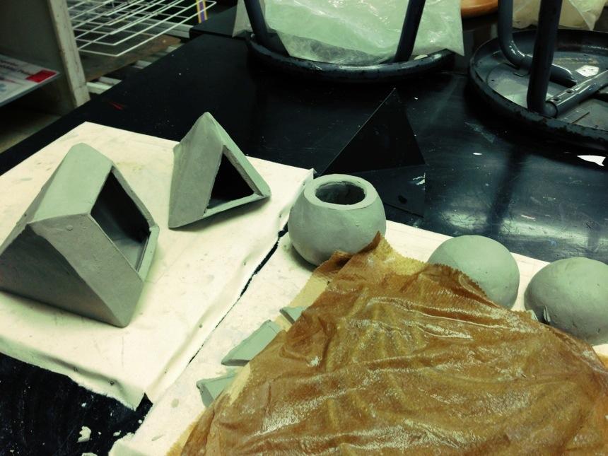 Start of ceramics